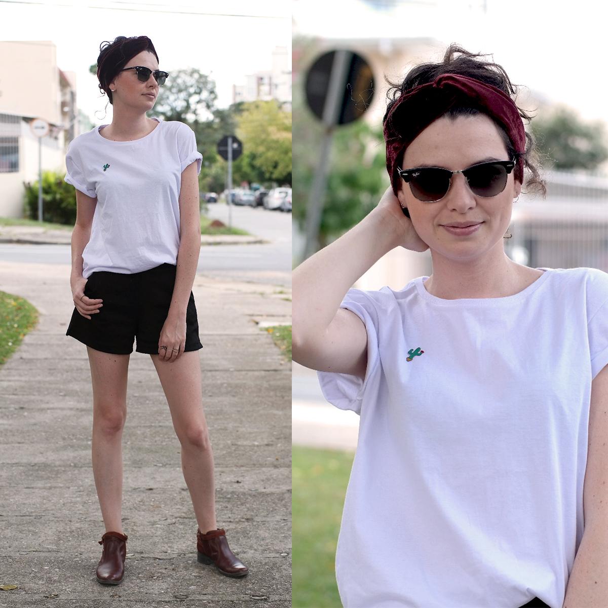 1e705be60c5 5 Looks com Camiseta Branca • Não Repete