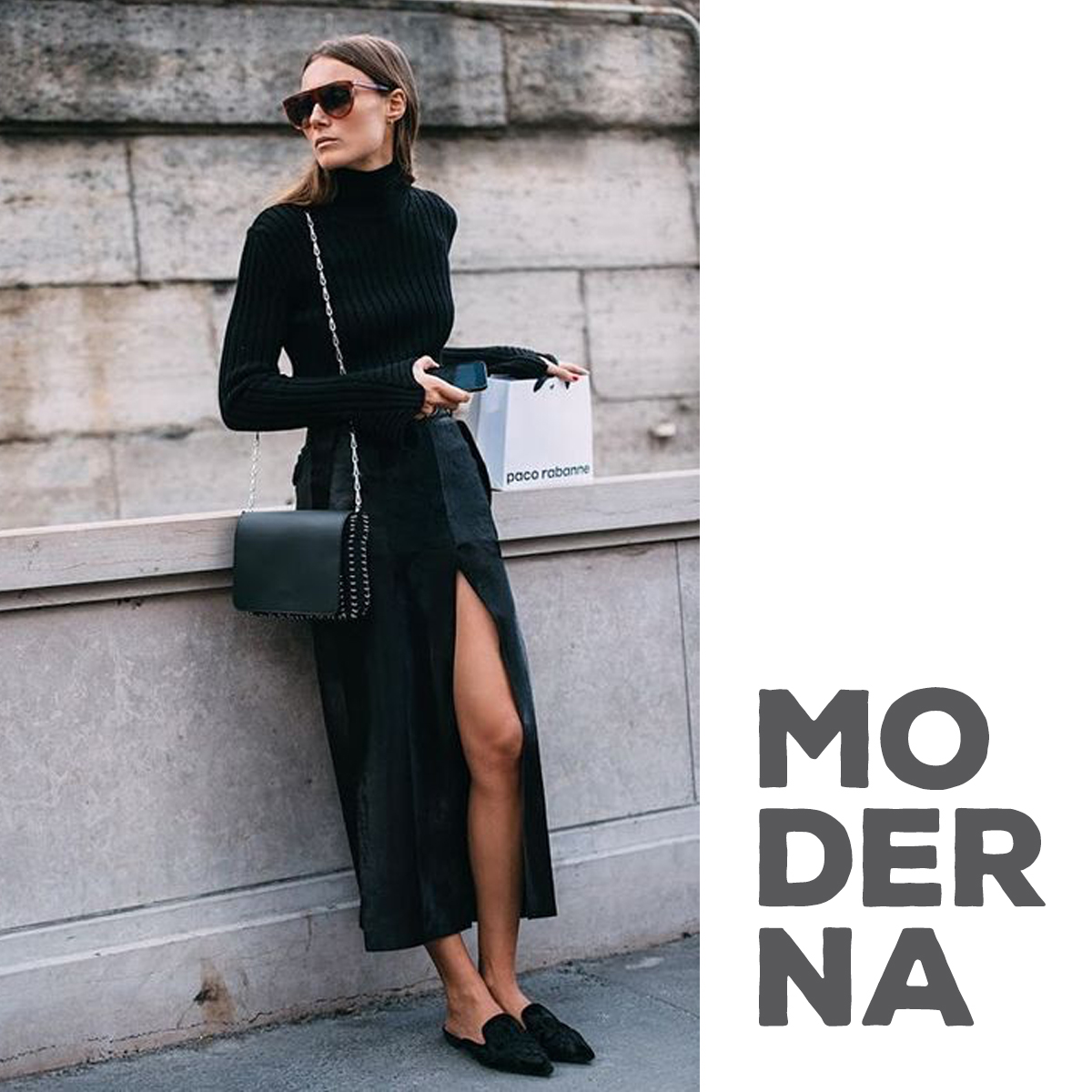 look-all-black-preto-estilo-moderno