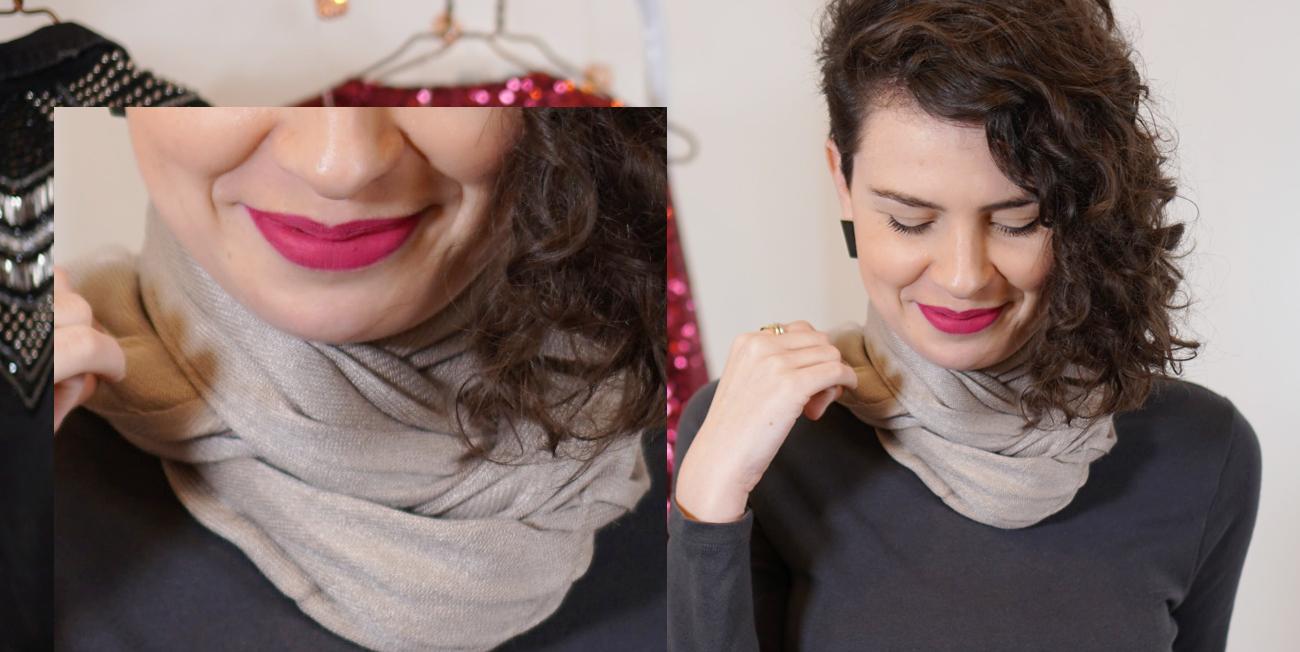 como-usar-echarpe-lenco-prata